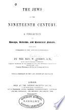 The Jews of the Nineteenth Century