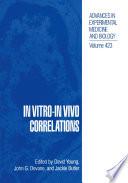 In Vitro In Vivo Correlations