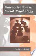 Categorization In Social Psychology book