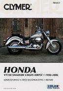 Honda Vt750 Shadow Chain Drive 1998 2006