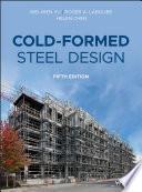 Cold Formed Steel Design