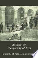 Journal of the Society of Arts Book PDF