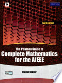 The Pearson Guide To Complete Mathematics For The Aieee, 4/E
