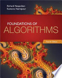 Foundations of Algorithms