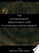The Environment Employment And Sustainable Development