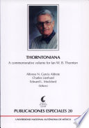 Thorntoniana : a commemorative volume for Ian W.B. Thornton (1926-2002)