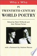 Who's Who in Twentieth Century World Poetry