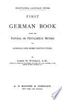 Erstes deutsches Buch nach der nat  rlichen Methode