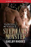 download ebook stephan\'s monster [vampires of vadin 2] pdf epub