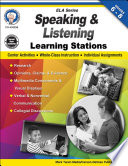 Speaking and Listening Learning Stations  Grades 6   8