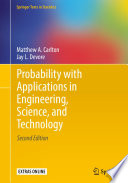 Probability with Applications in Engineering  Science  and Technology