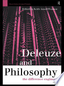 Deleuze and Philosophy