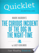 Quicklet on Mark Haddon s The Curious Incident of the Dog in the Night time