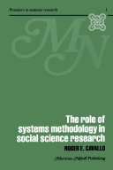 The Role of Systems Methodology in Social Science Research