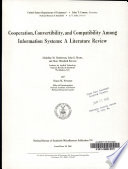 Cooperation, Convertibility, and Compatibility Among Information Systems