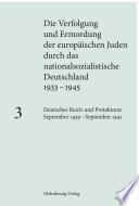 Deutsches Reich und Protektorat September 1939 - September 1941