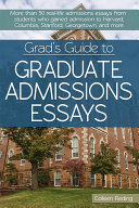 Grad's Guide to Graduate Admissions Essays
