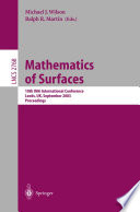 Mathematics of Surfaces