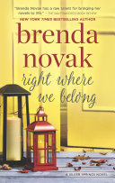 Right Where We Belong  Silver Springs  Book 4