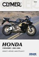 Honda CBR600RR 2003 2006