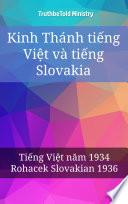 Kinh Thánh tiếng Việt và tiếng Slovakia