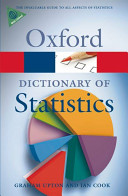 A Dictionary of Statistics