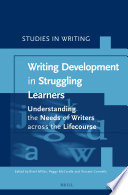 Writing development in Struggling Learners