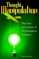 download ebook thought manipulation: the use and abuse of psychological trickery pdf epub