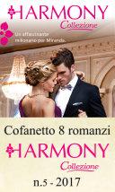 Cofanetto 8 romanzi Harmony Collezione 5