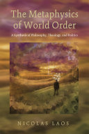 download ebook the metaphysics of world order pdf epub