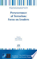 Perseverance Of Terrorism Focus On Leaders