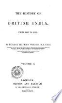 The History Of British India