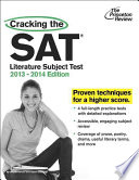 Cracking the SAT Literature Subject Test  2013 2014 Edition