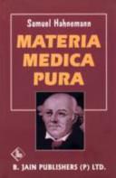 Materia Medica Pura  Aconitum ipecacuanha