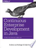 Continuous Enterprise Development In Java