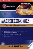 Macroeconomics  Theory and Applications 2e