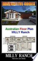 Blueprint : 228MilyRanchRH House Plan -.4 Bed + Kids Play Room : Living Area = 154.5m2