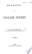 Readings in English Poetry