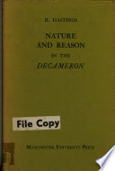 Nature and Reason in the Decameron
