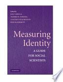 Measuring Identity