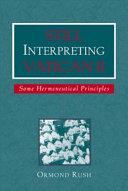 Still Interpreting Vatican II
