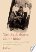 The Black Horror On The Rhine  book