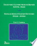 Diccionario culinario mexicano bilingue Espanol Ingles  Mexican Culinary Dictionary Bilingual Spanish English