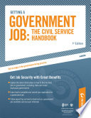 Getting A Government Job The Civil Service Handbook