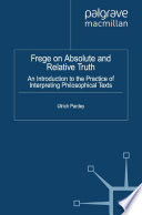 Frege on Absolute and Relative Truth