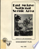 East Mojave National Scenic Area Management Plan