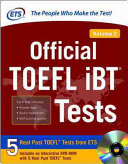 Official TOEFL IBT® Tests : dvd-rom -- from ets, the makers...