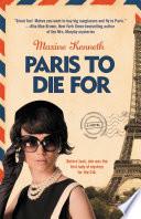 Book Paris to Die For