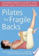 Pilates For Fragile Backs
