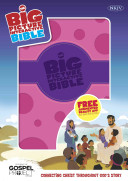 The NKJV Big Picture Interactive Bible, Purple/Pink Polka Dot Leathertouch: Connecting Christ Throughout God's Story